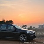 BMW X1 M Sport review side angle view
