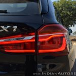 BMW X1 M Sport review tail light