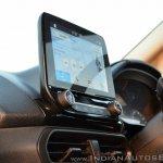 Ford EcoSport Petrol AT review display