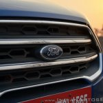 Ford EcoSport Petrol AT review grille