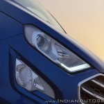 Ford EcoSport Petrol AT review headlamps