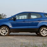 Ford EcoSport Petrol AT review side