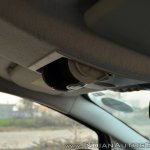 Ford EcoSport Petrol AT review sunglass holder