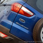Ford EcoSport Petrol AT review tail light