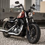 Harley-Davidson Forty-Eight Special front right quarter press