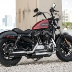 Harley-Davidson Forty-Eight Special rear right quarter press
