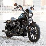 Harley-Davidson Iron 1200 front right quarter press