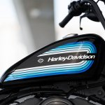 Harley-Davidson Iron 1200 fuel tank press