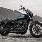 Harley-Davidson Iron 1200 right side press