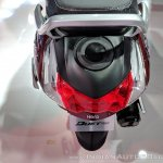 Hero Duet 125 fuel filler at 2018 Auto Expo