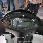 Hero Duet 125 instrument cluster at 2018 Auto Expo