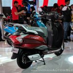 Hero Duet 125 rear right quarter at 2018 Auto Expo