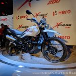 Hero XPulse 200 front right quarter at 2018 Auto Expo