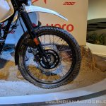 Hero XPulse 200 front wheel at 2018 Auto Expo