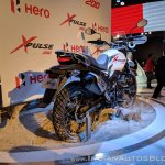 Hero XPulse 200 rear right quarter at 2018 Auto Expo