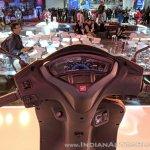 Honda Activa 5G cockpit at 2018 Auto Expo