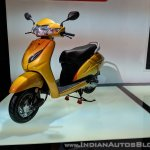 Honda Activa 5G front left quarter at 2018 Auto Expo