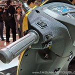 Honda Activa 5G switchgear at 2018 Auto Expo