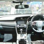Honda Civic dashboard at Auto Expo 2018