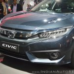 Honda Civic front fascia at Auto Expo 2018