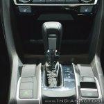 Honda Civic gearshift lever at Auto Expo 2018
