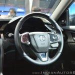 Honda Civic steering wheel at Auto Expo 2018