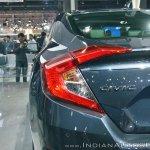 Honda Civic tail lamp at Auto Expo 2018