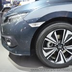 Honda Civic wheel at Auto Expo 2018