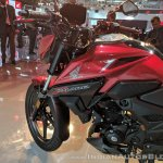 Honda X-Blade Red fuel tank at 2018 Auto Expo