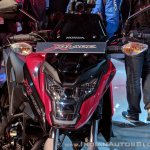 Honda X-Blade Red headlight at 2018 Auto Expo