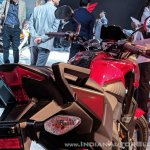 Honda X-Blade Red tail light at 2018 Auto Expo