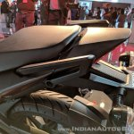 Honda X-Blade pillion seat at 2018 Auto Expo