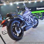 Kawasaki Vulcan S rear right quarter at 2018 Auto Expo