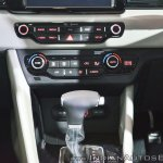 Kia Niro plug-in hybrid centre console at Auto Expo 2018