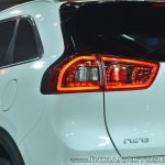Kia Niro plug-in hybrid tail lamp at Auto Expo 2018