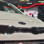 Kia Rio Tiger-Nose grille at Auto Expo 2018