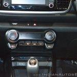 Kia Rio climate control system at Auto Expo 2018