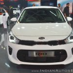 Kia Rio front at Auto Expo 2018