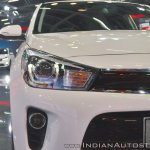 Kia Rio headlamp at Auto Expo 2018