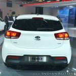 Kia Rio rear at Auto Expo 2018
