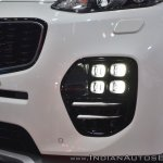 Kia Sportage Ice Cube LED fog lamp at Auto Expo 2018