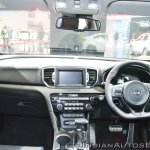Kia Sportage dashboard at Auto Expo 2018