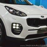 Kia Sportage front fascia at Auto Expo 2018