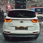 Kia Sportage rear at Auto Expo 2018