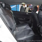Kia Sportage rear seats at Auto Expo 2018