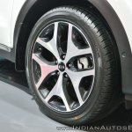 Kia Sportage wheel at Auto Expo 2018