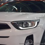 Kia Stonic headlamp at Auto Expo 2018