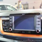Kia Stonic infotainment system at Auto Expo 2018