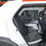 Kia Stonic rear seats at Auto Expo 2018