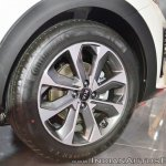 Kia Stonic wheel at Auto Expo 2018